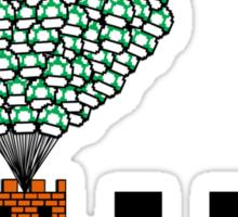 1UP (8bit) Sticker