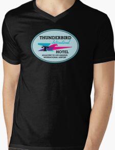 Thunderbird Hotel Mens V-Neck T-Shirt