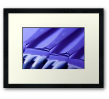 Kitchen Rhapsody: Fork Diagonals Framed Print
