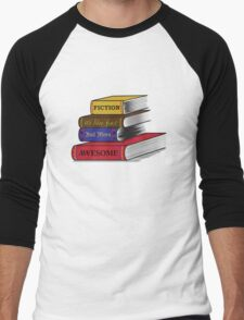 Fiction Is Awesome Men's Baseball ¾ T-Shirt