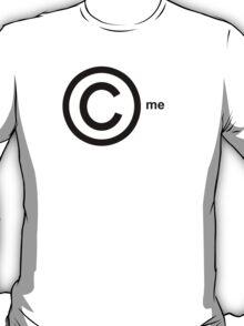 Copyright Me (black) T-Shirt