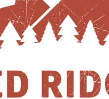 Warcraft Red Ridge Mountains Sticker