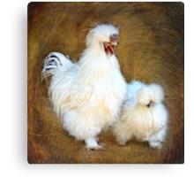 Mr & Mrs Fluffy Canvas Print