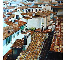 Firenze Rooftops. Photographic Print