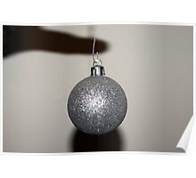 Floating Bauble Poster