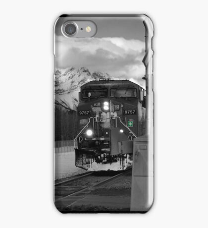 Snowy Engine Through the Rockies iPhone case iPhone Case/Skin