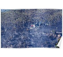 Fire at Echo Point II Poster