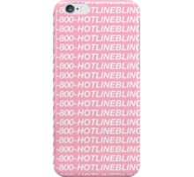 1-800-HOTLINEBLING phone case iPhone Case/Skin