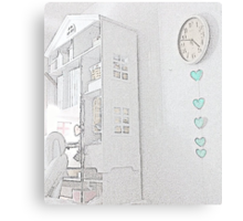 a special corner ………………………………… Canvas Print