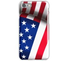 USA - Flapping Flag iPhone Case/Skin