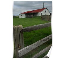 Forest Shearing Shed Poster