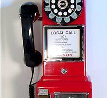 Old Crosley Phone by Annlynn Ward