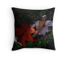 Curled ! Throw Pillow