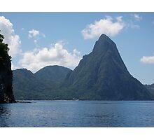 Piton Mountains Photographic Print