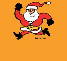 Running Santa Claus Unisex T-Shirt