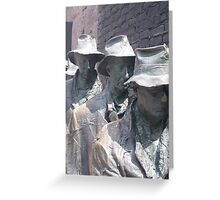 In Memory of the Great Depression Greeting Card