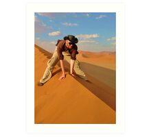 Dune Rider Art Print
