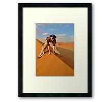 Dune Rider Framed Print