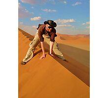 Dune Rider Photographic Print