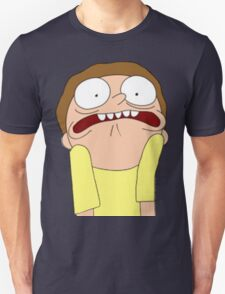 Morty Scared halloween  Unisex T-Shirt