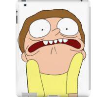 Morty Scared halloween  iPad Case/Skin