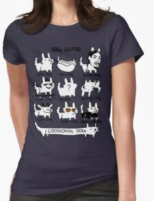 DOG GUIDE Womens Fitted T-Shirt