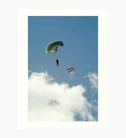 Parachutist Art Print