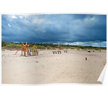 Baltic beach Poster
