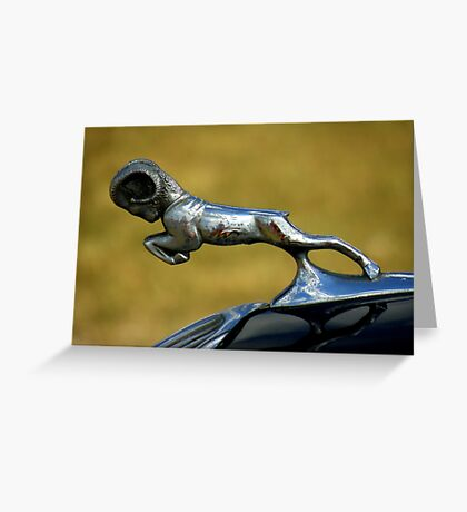 Automotive Bestiary ~ Part One Greeting Card
