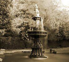 Dunorlan Fountain by Dave Godden