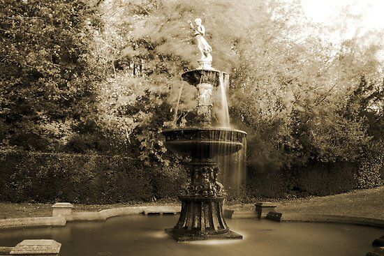 Dunorlan Fountain by Dave Godden