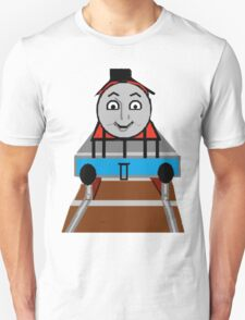 Toddlers Cartoon Lyle the Toy Train Engine Tshirt Unisex T-Shirt