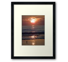 Awesome Morning Framed Print