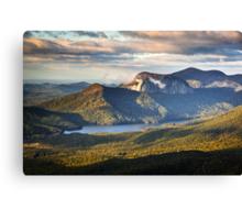Table Rock Sunrise - Caesar's Head State Park Landscape Canvas Print