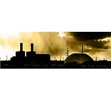 Marchwood Industrial Area Photographic Print