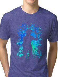 cowboy bebop spike spiegel paint splatter anime manga shirt Tri-blend T-Shirt
