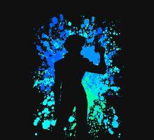 cowboy bebop spike spiegel paint splatter anime manga shirt Unisex T-Shirt
