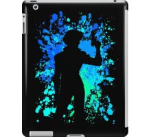 cowboy bebop spike spiegel paint splatter anime manga shirt iPad Case/Skin