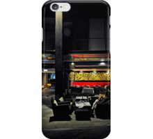 Street cafe. Walsh Bay iPhone Case/Skin