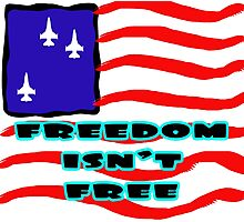 FREEDOM IS NOT FREE Photographic Print