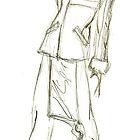 Fashion Sketch Male 3 by AnArtfulLife