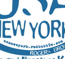 car sales usa ny by rogers bros Sticker