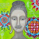 BUDDHA WITH MANDALAs by ClaudiaTuli