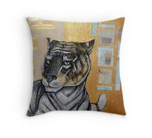 Animalia II: Siberian Tiger Throw Pillow