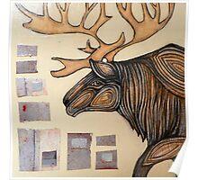 Animalia I: Woodland Caribou Poster