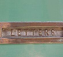 Letter box by Gillian Cross