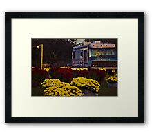 Home by the Pumpkin Patch Framed Print