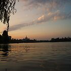 Sunset in Bucharest (2) by Themis
