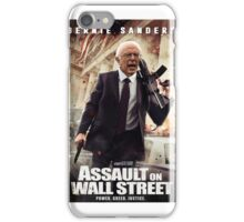 Bernie Sanders Attack on Wall Street iPhone Case/Skin