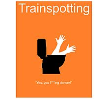 Trainspotting Minima 2 Photographic Print
